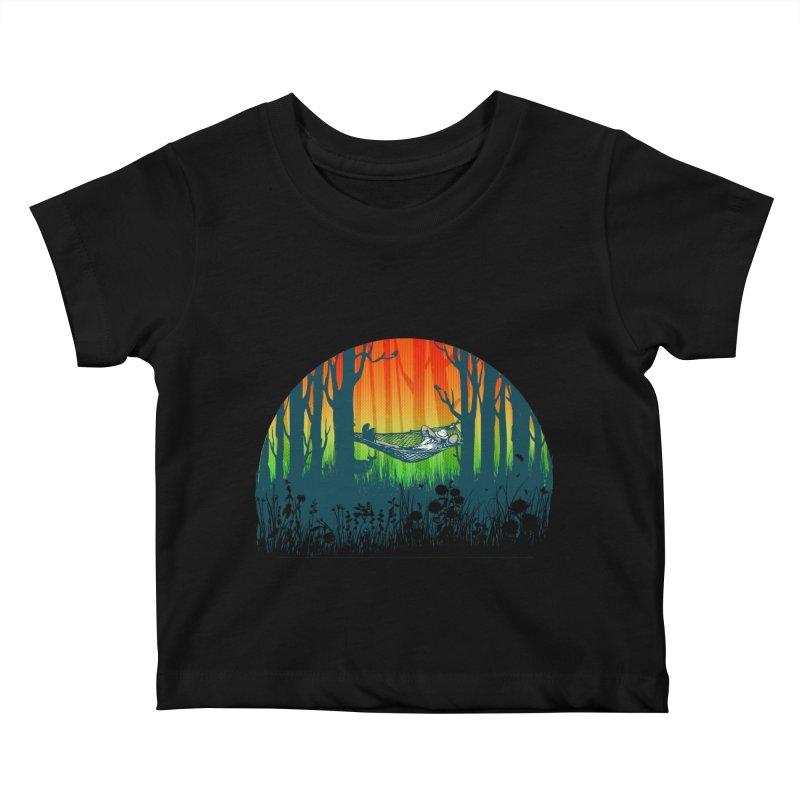 FOR-REST Kids Baby T-Shirt by deyaz's Artist Shop