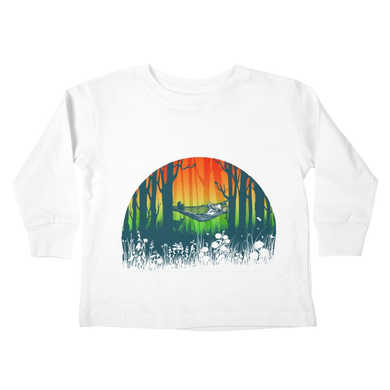 FOR-REST Kids Toddler Longsleeve T-Shirt by deyaz's Artist Shop