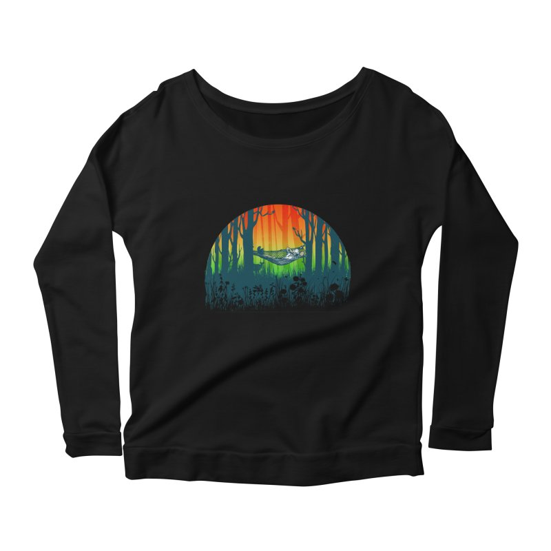 FOR-REST Women's Longsleeve Scoopneck  by deyaz's Artist Shop