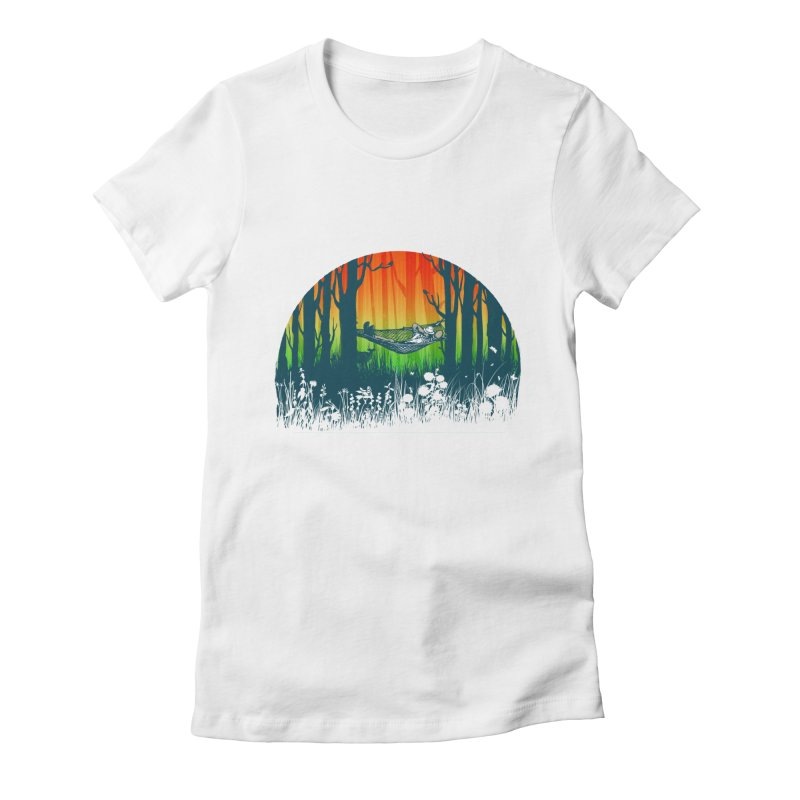 FOR-REST Women's Fitted T-Shirt by deyaz's Artist Shop