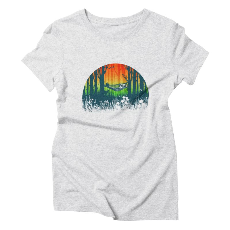 FOR-REST Women's Triblend T-Shirt by deyaz's Artist Shop