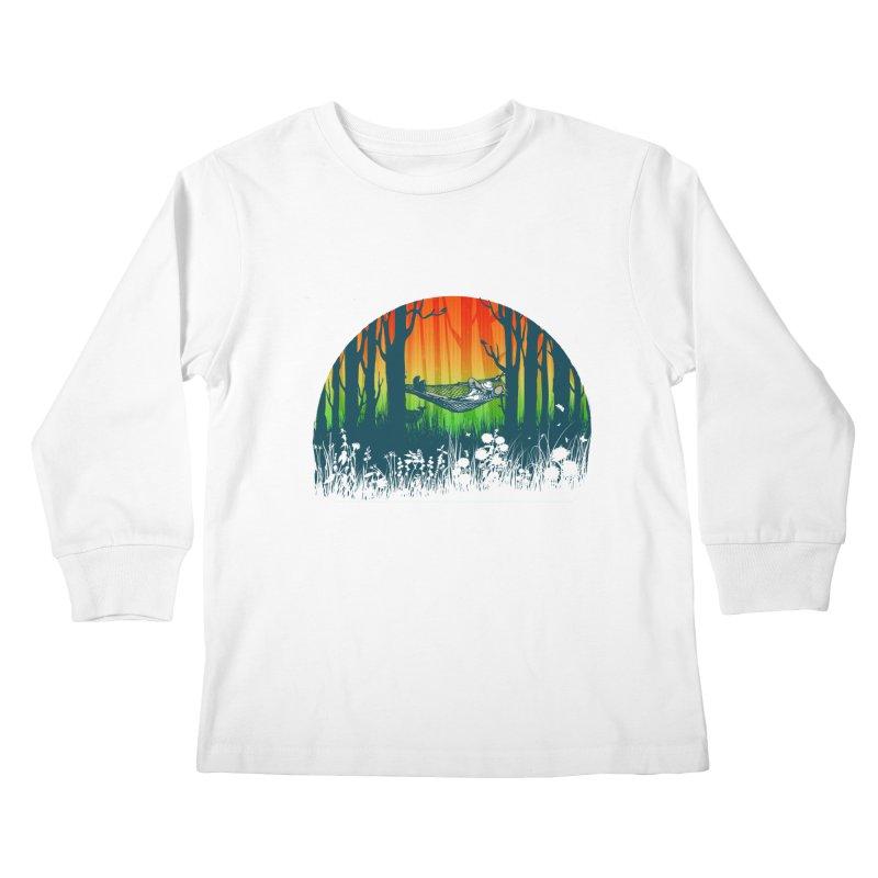 FOR-REST Kids Longsleeve T-Shirt by deyaz's Artist Shop
