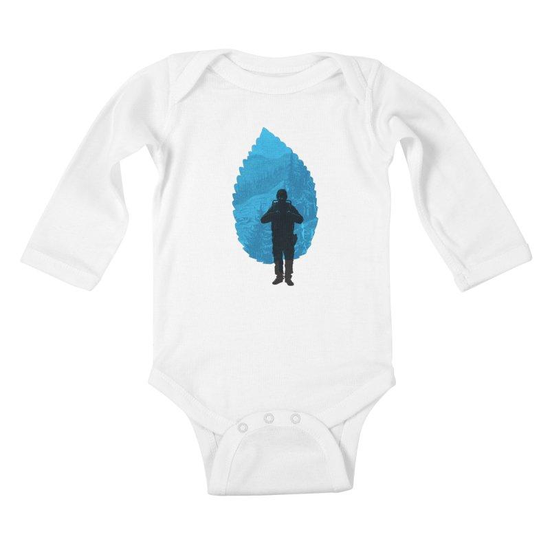 Kids Baby Longsleeve Bodysuit by deyaz's Artist Shop