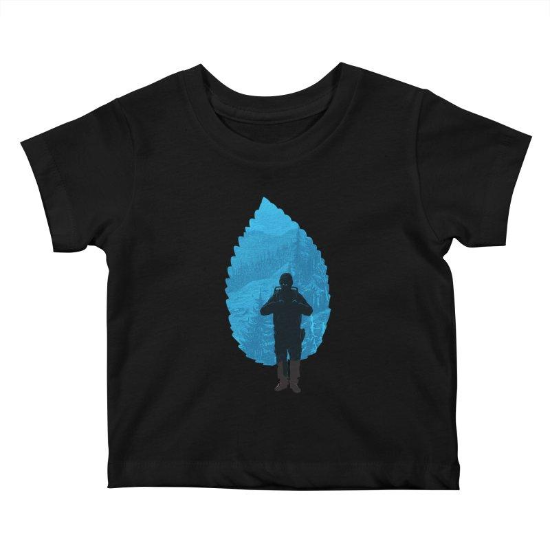 Kids Baby T-Shirt by deyaz's Artist Shop