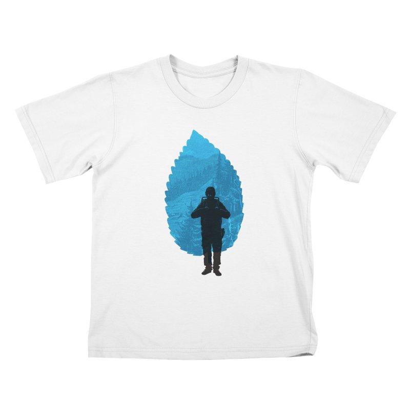 Kids T-shirt by deyaz's Artist Shop