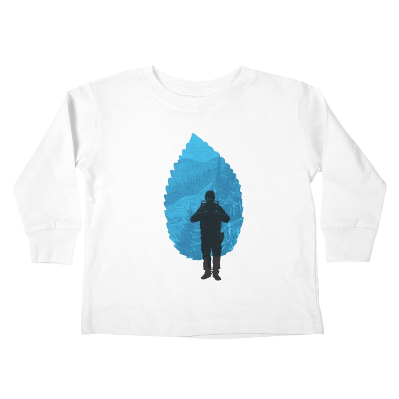 Kids Toddler Longsleeve T-Shirt by deyaz's Artist Shop