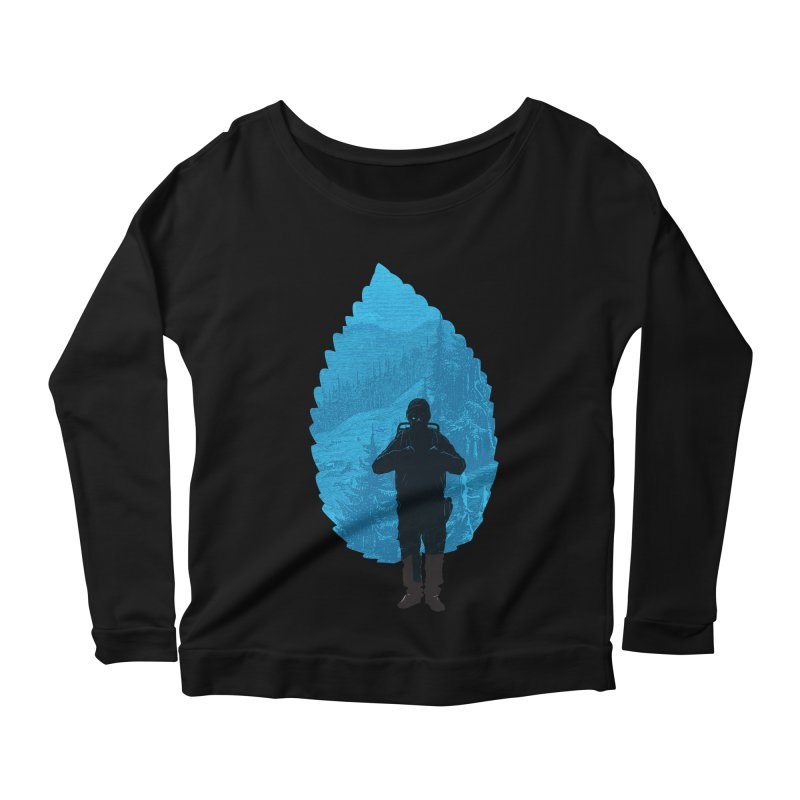Women's Longsleeve Scoopneck  by deyaz's Artist Shop