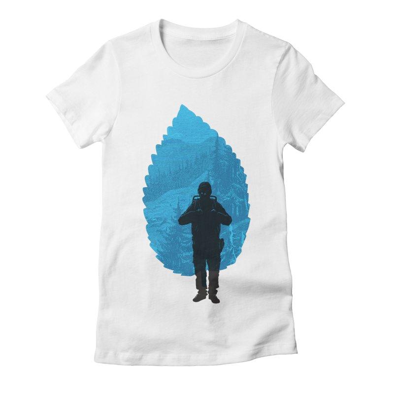 Women's Fitted T-Shirt by deyaz's Artist Shop