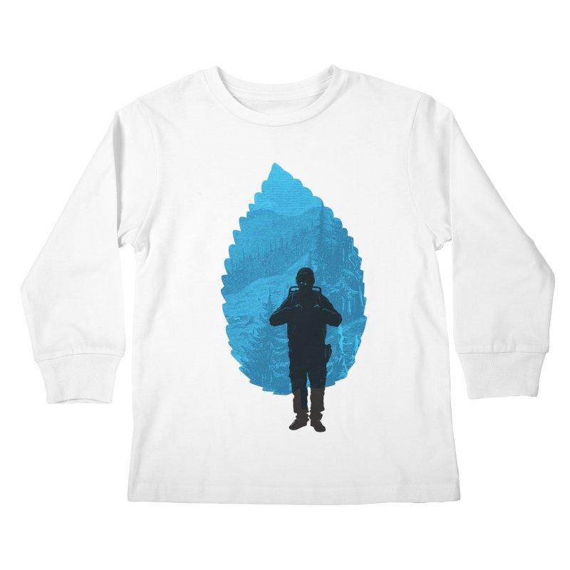 Kids Longsleeve T-Shirt by deyaz's Artist Shop