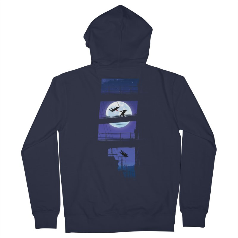 Last Samurai Men's Zip-Up Hoody by deyaz's Artist Shop