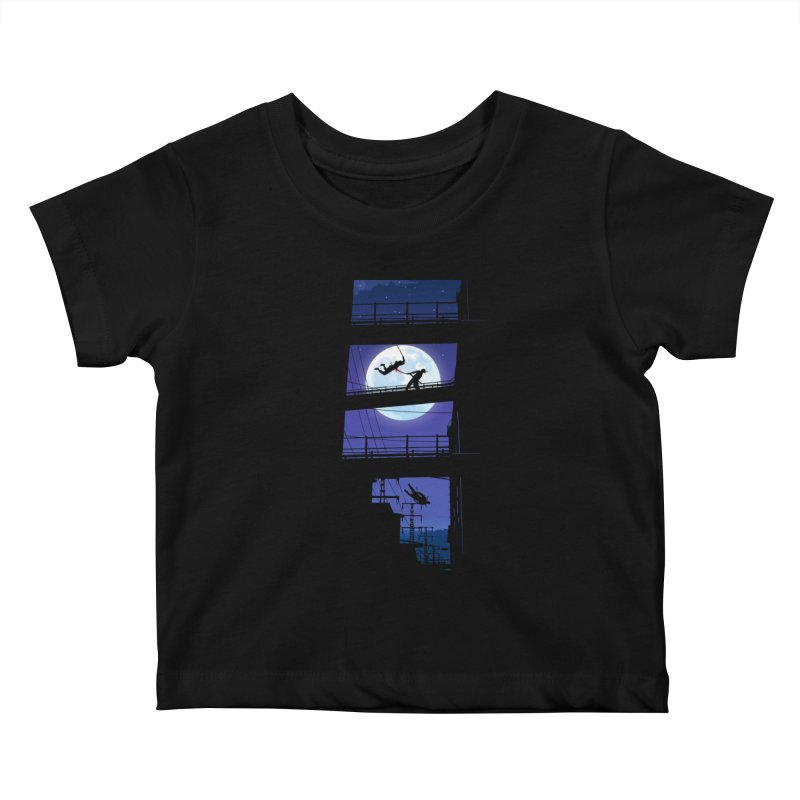 Last Samurai Kids Baby T-Shirt by deyaz's Artist Shop