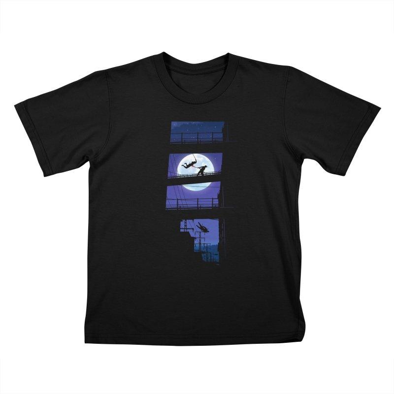 Last Samurai Kids T-Shirt by deyaz's Artist Shop