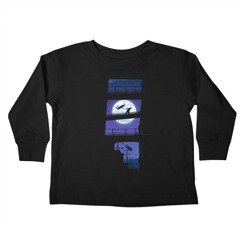 Last Samurai Kids Toddler Longsleeve T-Shirt by deyaz's Artist Shop