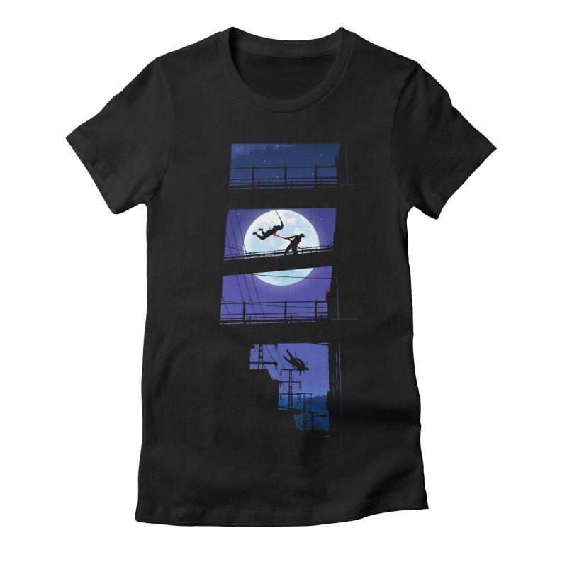 Last Samurai Women's Fitted T-Shirt by deyaz's Artist Shop