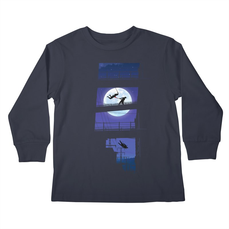 Last Samurai Kids Longsleeve T-Shirt by deyaz's Artist Shop