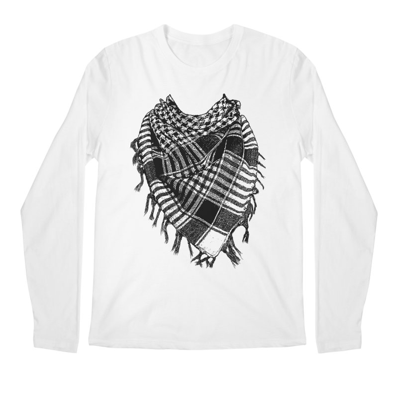 Keffiyeh Men's Longsleeve T-Shirt by deyaz's Artist Shop