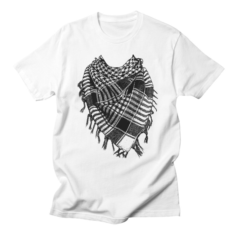 Keffiyeh Men's T-shirt by deyaz's Artist Shop