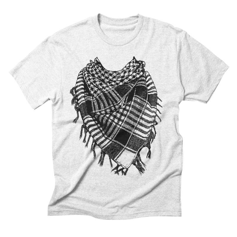 Keffiyeh Men's Triblend T-shirt by deyaz's Artist Shop