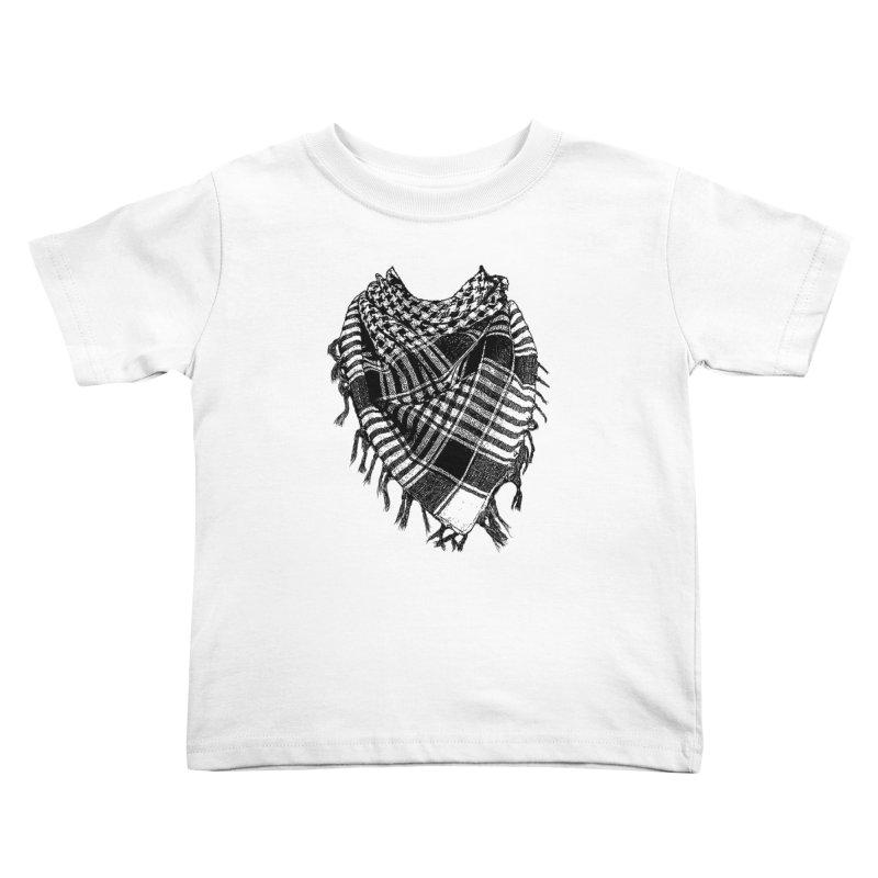 Keffiyeh Kids Toddler T-Shirt by deyaz's Artist Shop