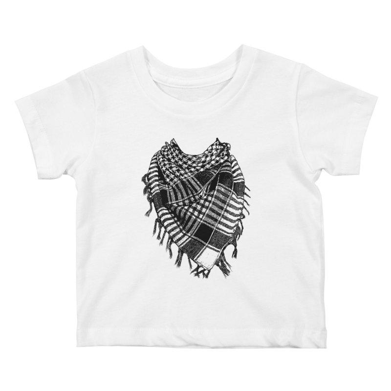 Keffiyeh Kids Baby T-Shirt by deyaz's Artist Shop