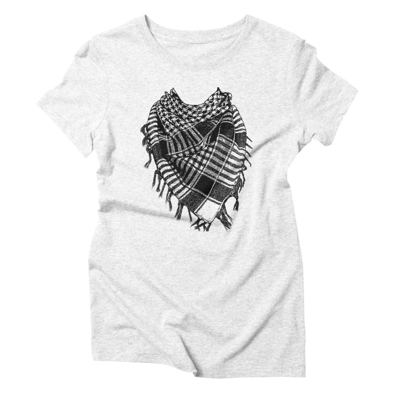 Keffiyeh Women's Triblend T-shirt by deyaz's Artist Shop