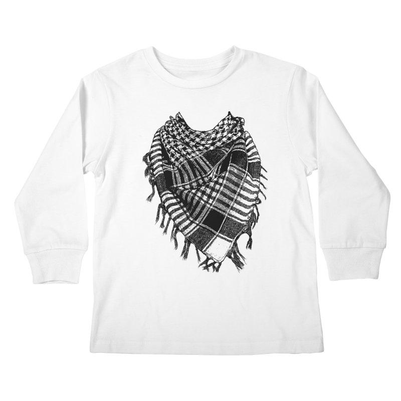 Keffiyeh Kids Longsleeve T-Shirt by deyaz's Artist Shop