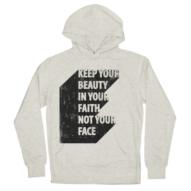 Keep Your Beauty Men's Pullover Hoody by deyaz's Artist Shop