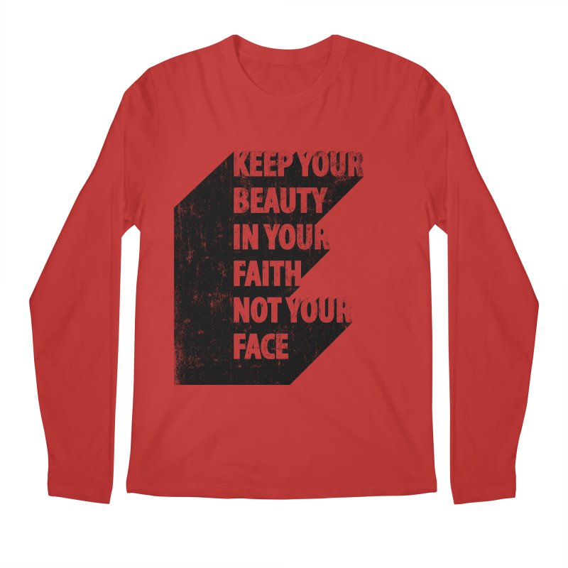 Keep Your Beauty Men's Longsleeve T-Shirt by deyaz's Artist Shop