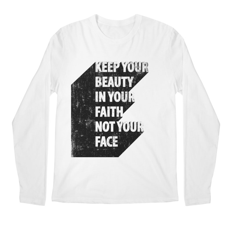 Keep Your Beauty Men's Longsleeve T-Shirt by deyaz's Artist Shop