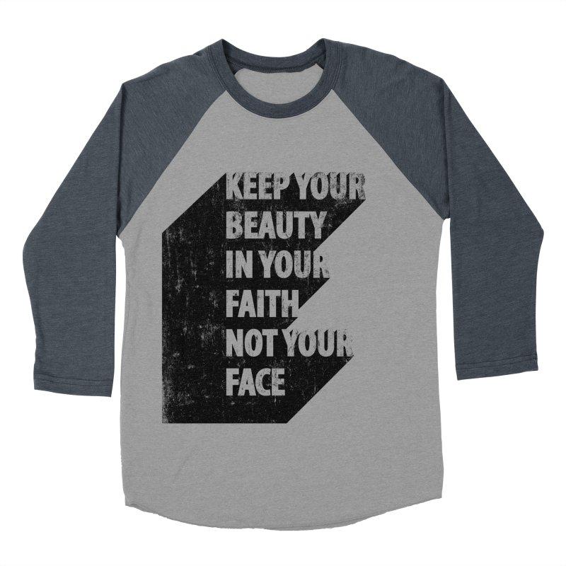 Keep Your Beauty Women's Baseball Triblend T-Shirt by deyaz's Artist Shop