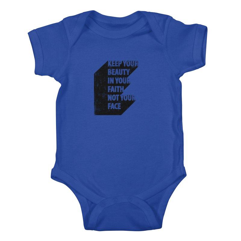 Keep Your Beauty Kids Baby Bodysuit by deyaz's Artist Shop