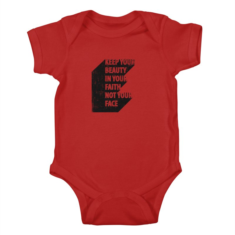Keep Your Beauty Kids Baby Bodysuit by deyaz's Artist Shop