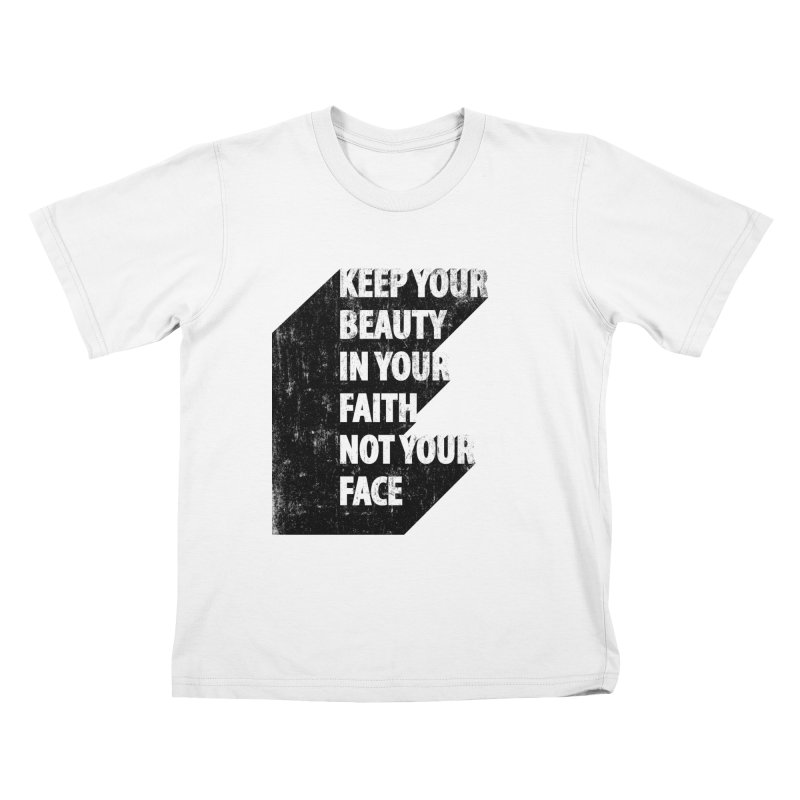 Keep Your Beauty Kids T-Shirt by deyaz's Artist Shop