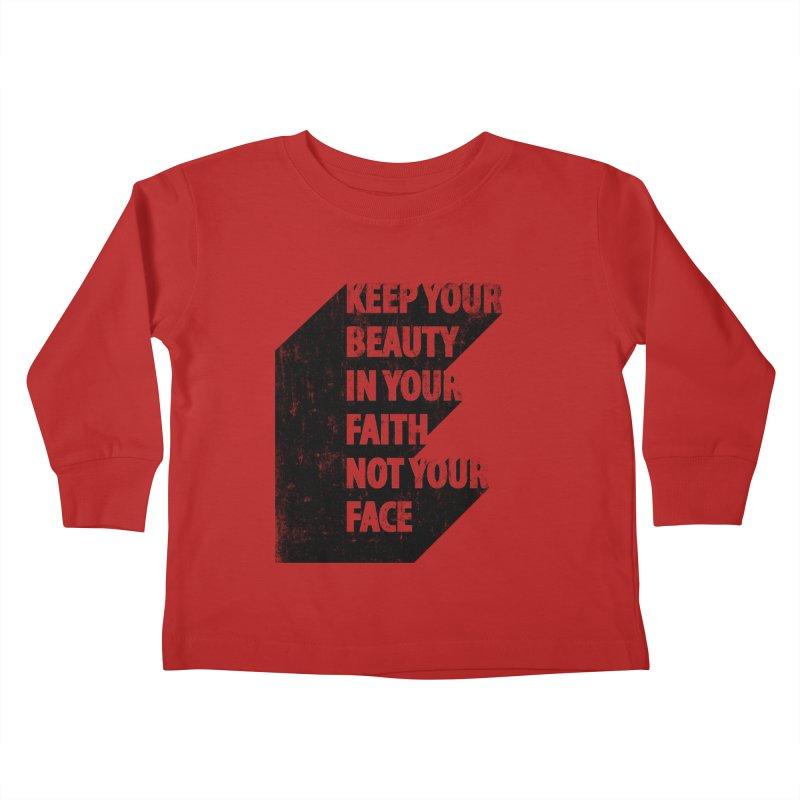 Keep Your Beauty Kids Toddler Longsleeve T-Shirt by deyaz's Artist Shop