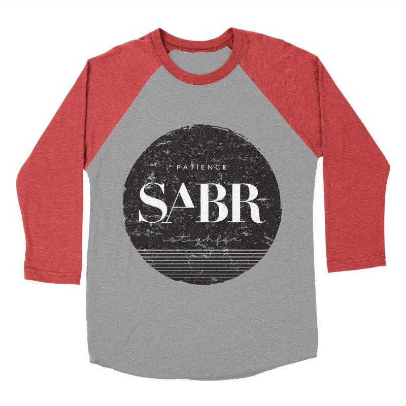 PATIENCE Women's Baseball Triblend T-Shirt by deyaz's Artist Shop