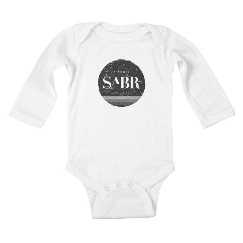 PATIENCE Kids Baby Longsleeve Bodysuit by deyaz's Artist Shop