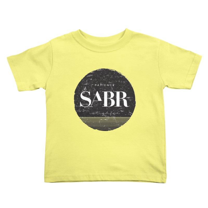 PATIENCE Kids Toddler T-Shirt by deyaz's Artist Shop