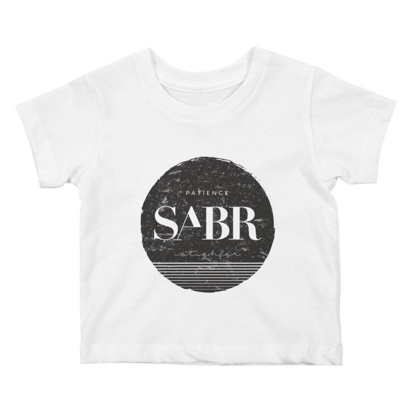 PATIENCE Kids Baby T-Shirt by deyaz's Artist Shop