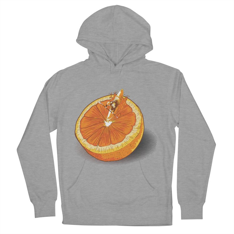 Rapid Orange Men's Pullover Hoody by deyaz's Artist Shop