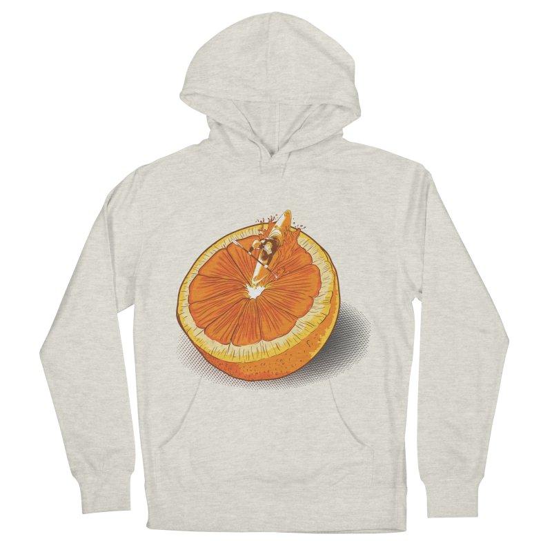 Rapid Orange Men's Pullover Hoody by deyaz's Artist Shop