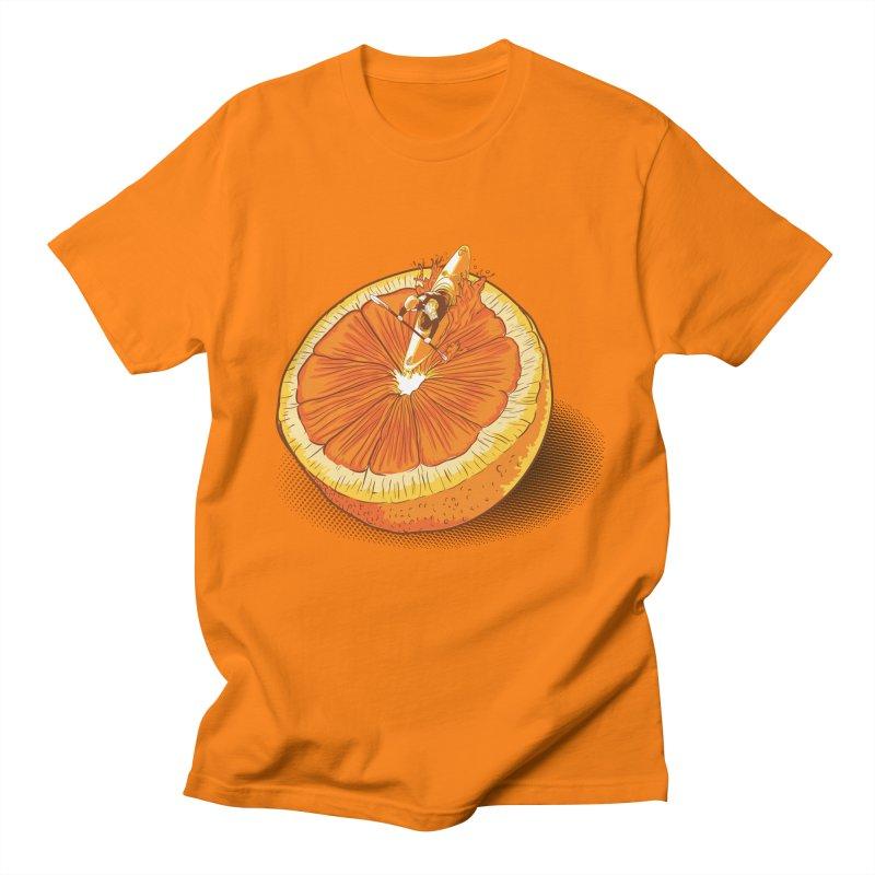 Rapid Orange Men's T-Shirt by deyaz's Artist Shop