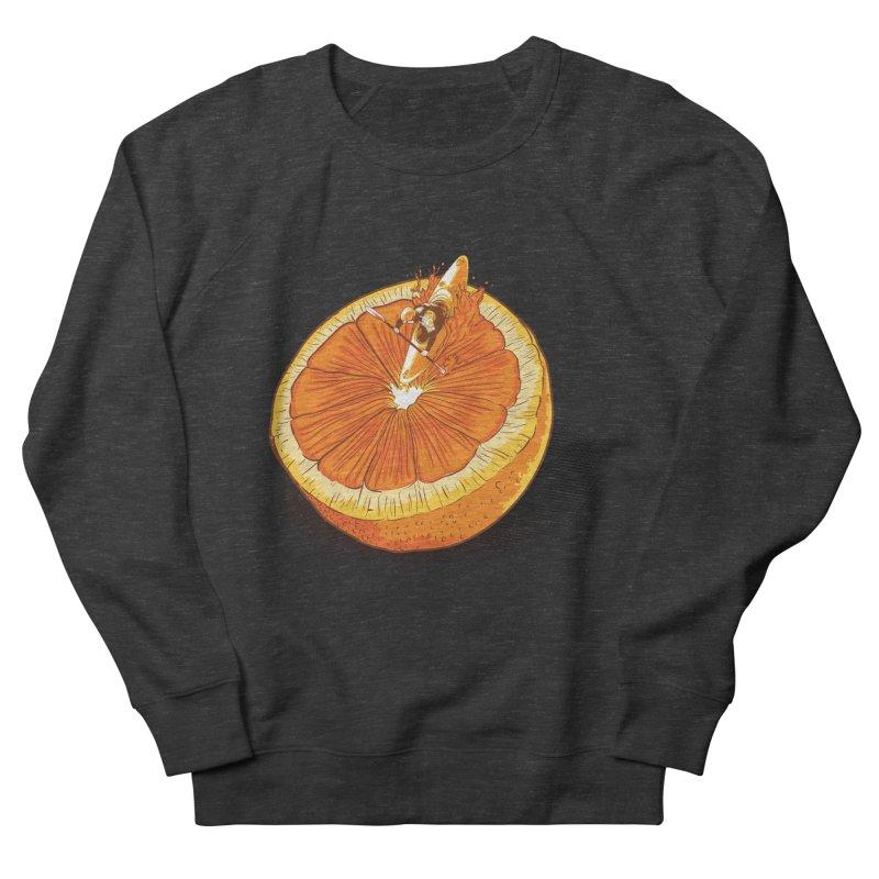 Rapid Orange Men's Sweatshirt by deyaz's Artist Shop