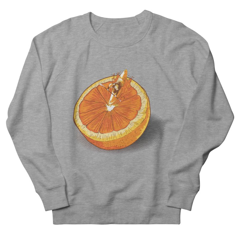 Rapid Orange Men's Sweatshirt by deyaz's Artist Shop