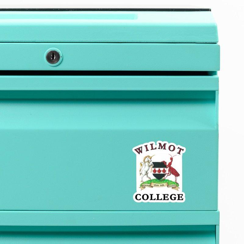 Wilmot College Accessories Magnet by Daphnes Fantasies Merchandise
