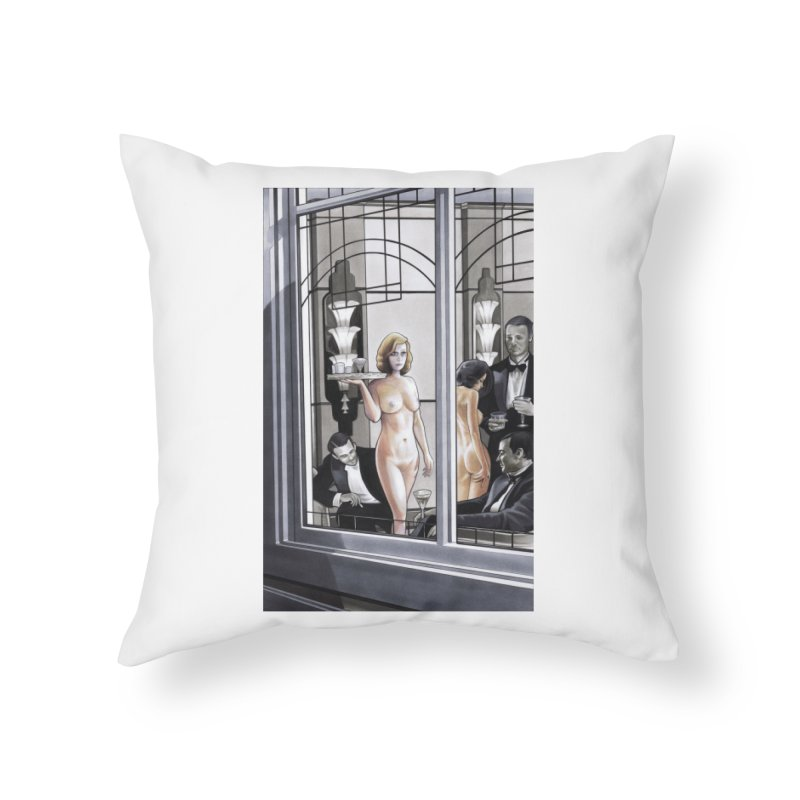 Queen of Angels #11 Home Throw Pillow by Daphnes Fantasies Merchandise