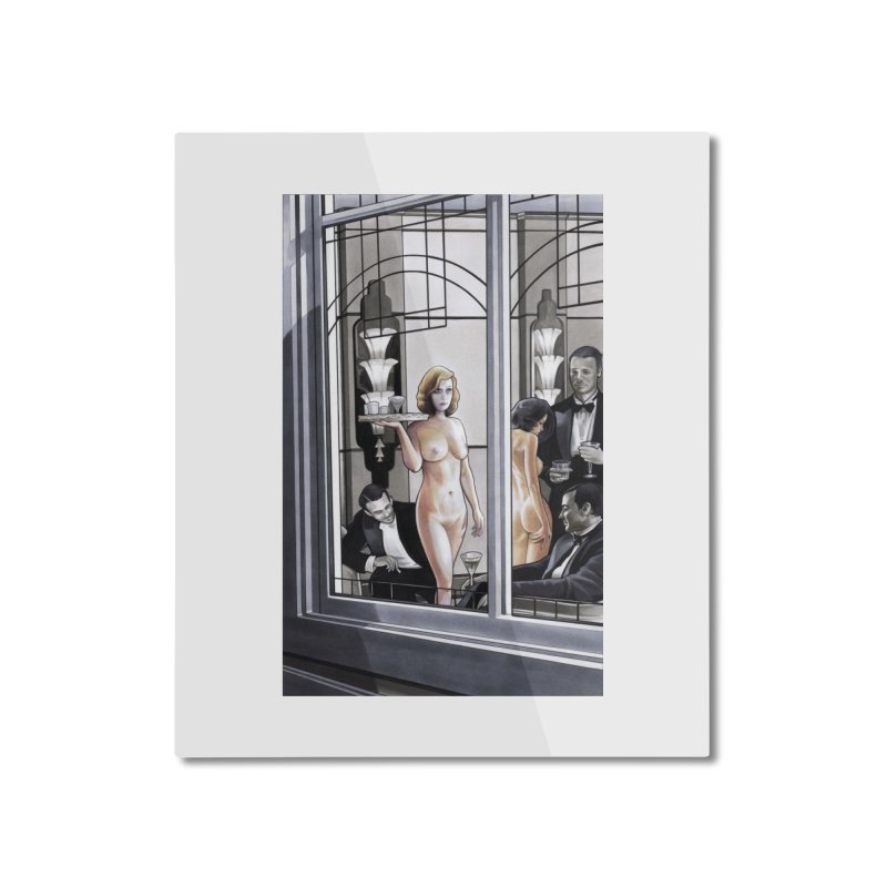 Queen of Angels #11 Home Mounted Aluminum Print by Daphnes Fantasies Merchandise