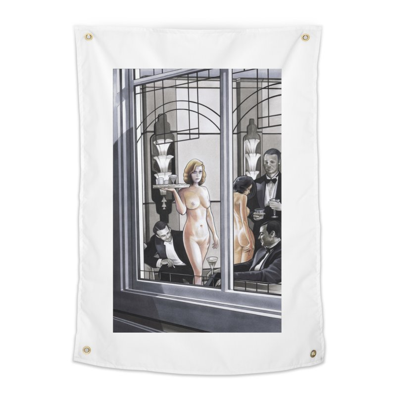 Queen of Angels #11 Home Tapestry by Daphnes Fantasies Merchandise
