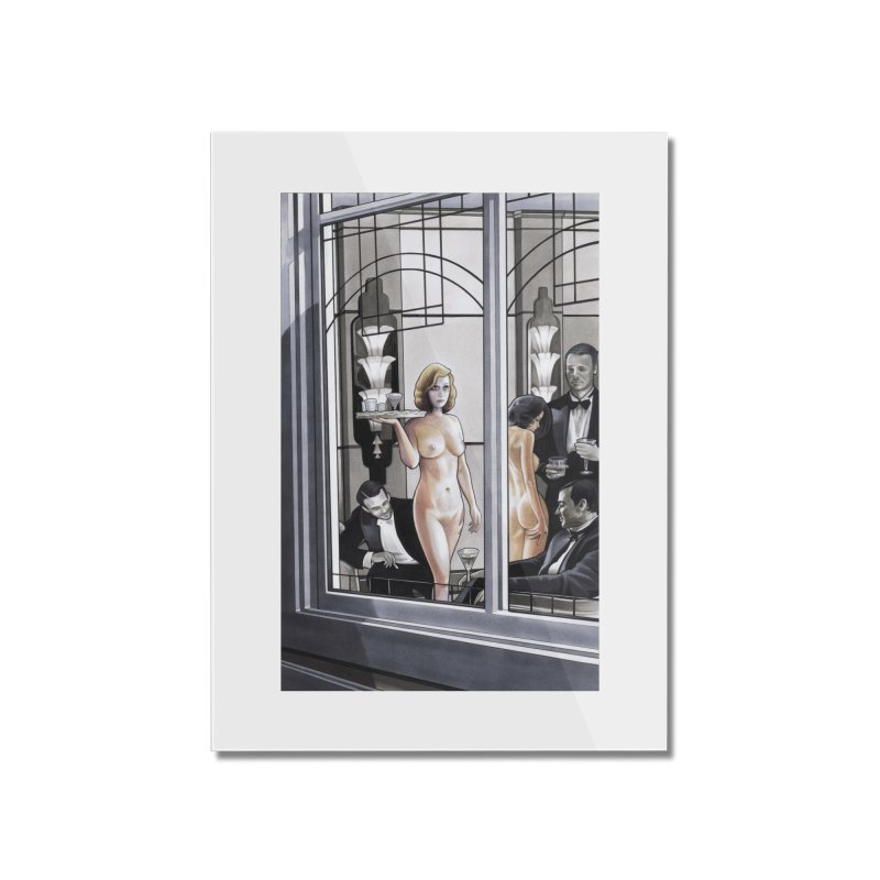 Queen of Angels #11 Home Mounted Acrylic Print by Daphnes Fantasies Merchandise