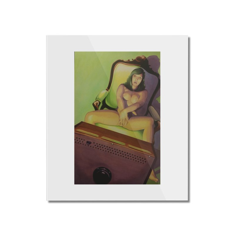 Queen of Angels #17 Home Mounted Acrylic Print by Daphnes Fantasies Merchandise