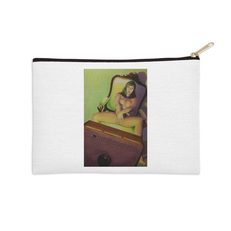 Queen of Angels #17 Accessories Zip Pouch by Daphnes Fantasies Merchandise